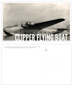 Boeing Postcards sample