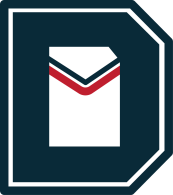 Two color logo mark.